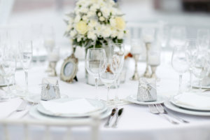 classic elegance table setting